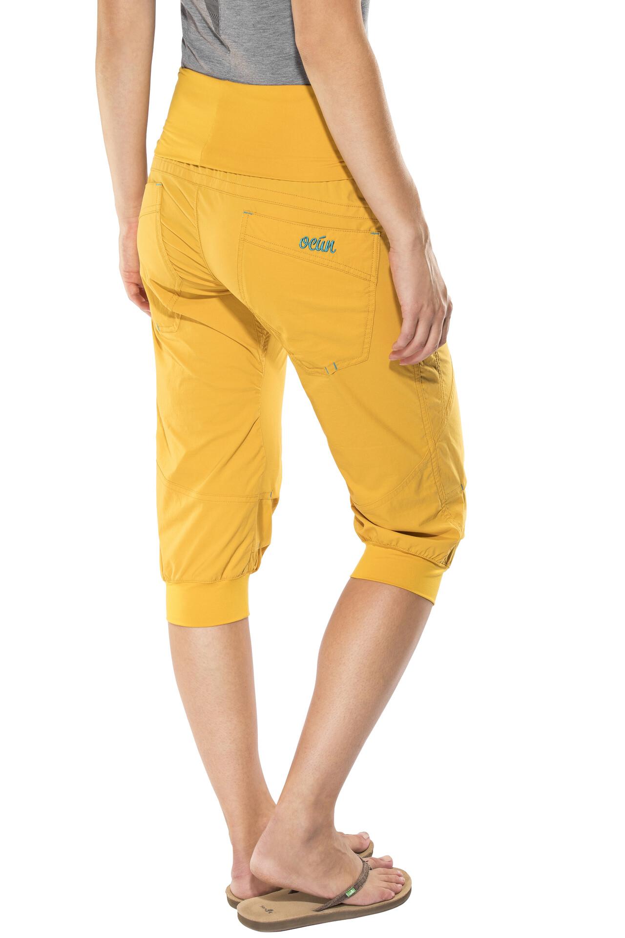 amarillo cortos Pantalones Mujer Noya Ocun xzHZc 1d45dc1eaece